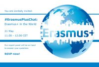 Online Chat: Erasmus+ in the world
