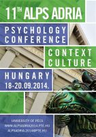 11th Alps-Adria Psychology Conference...