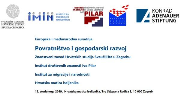 Konferenciju Povratnistvo I Gospodarski Razvoj Organiziraju